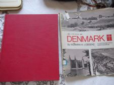 VINTAGE HB & DC DENMARK A FIRST BOOK RICHARD NORMAN LOBSENZ PHOTOS 1970